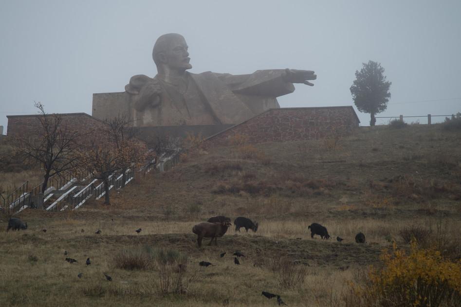 Lenin show you the way, Tajikistan