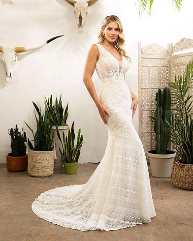 Boho wedding dress Central Coast Bridal Gowns Plus size bridal dress