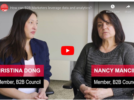 Hear what leading B2B experts have to say about B2B Marketing!
