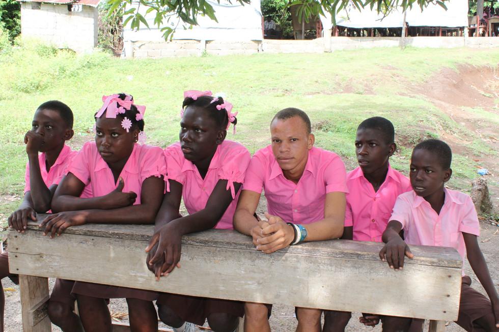 Sainte Trinite Students
