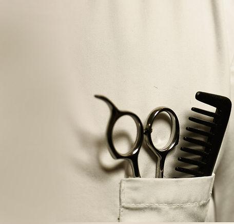 Scissor and Comb