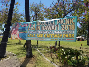 The 10th Annual 'Ukulele Picnic in Hawaii