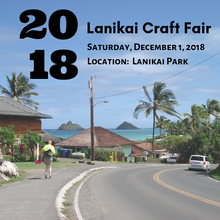 December 1, 2018 - Lanikai Craft Fair