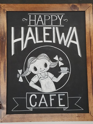On The Go Again:  Happy Haleiwa Cafe