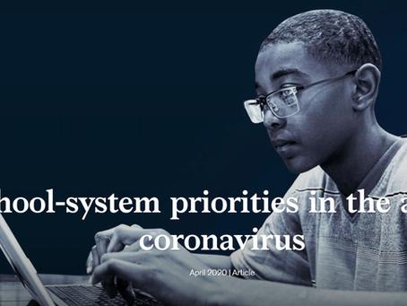 School-system Priorities in the Age of Coronavirus