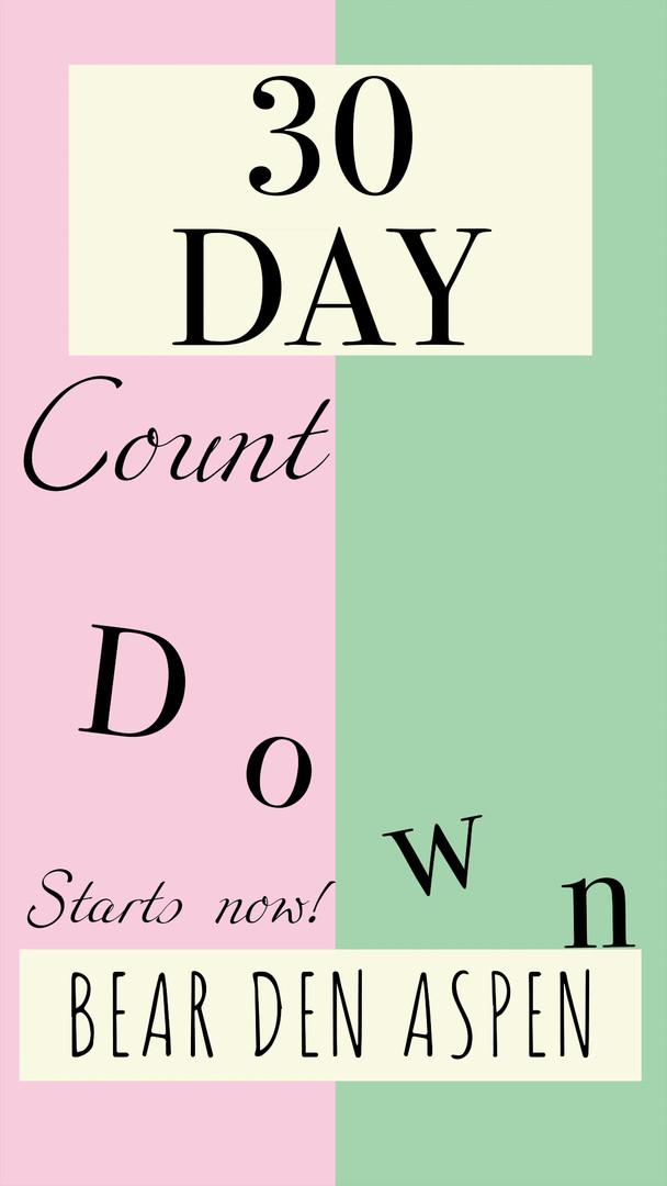 Countdown: 30 Days