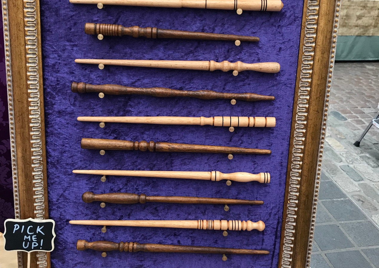 Mystery Wands