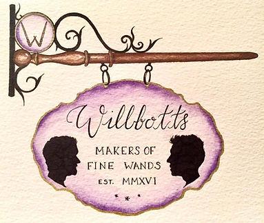 Willbott's Wands Logo