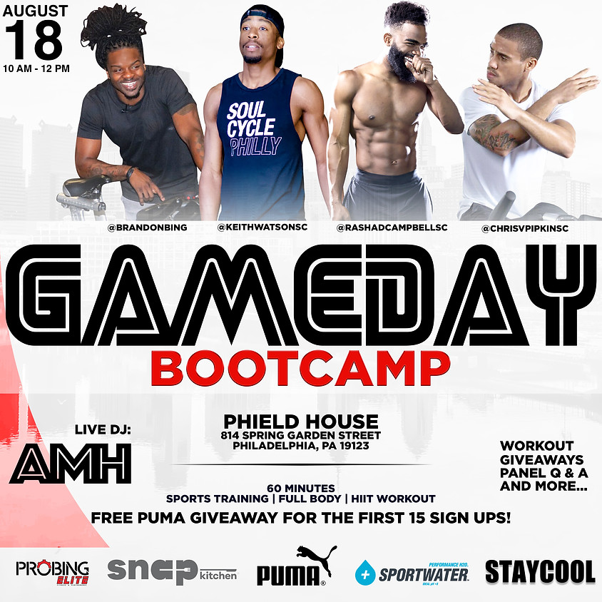 GAMEDAY BOOTCAMP