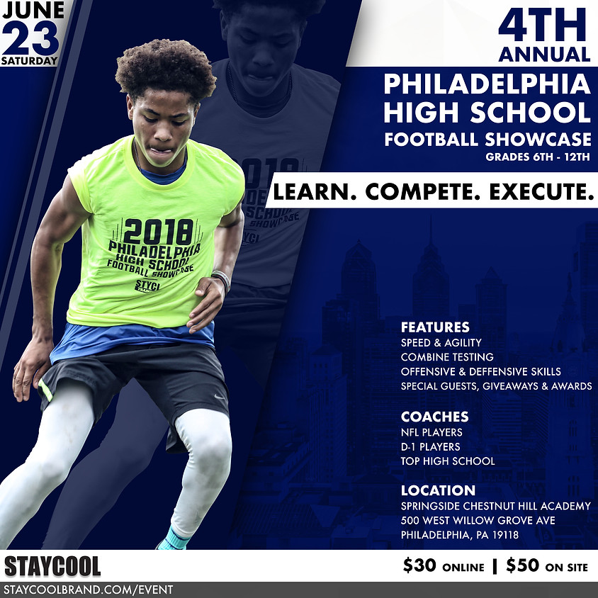 2018 Philadelphia HS Football Showcase