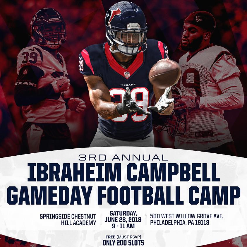 Ibraheim Campbell Youth Football Camp