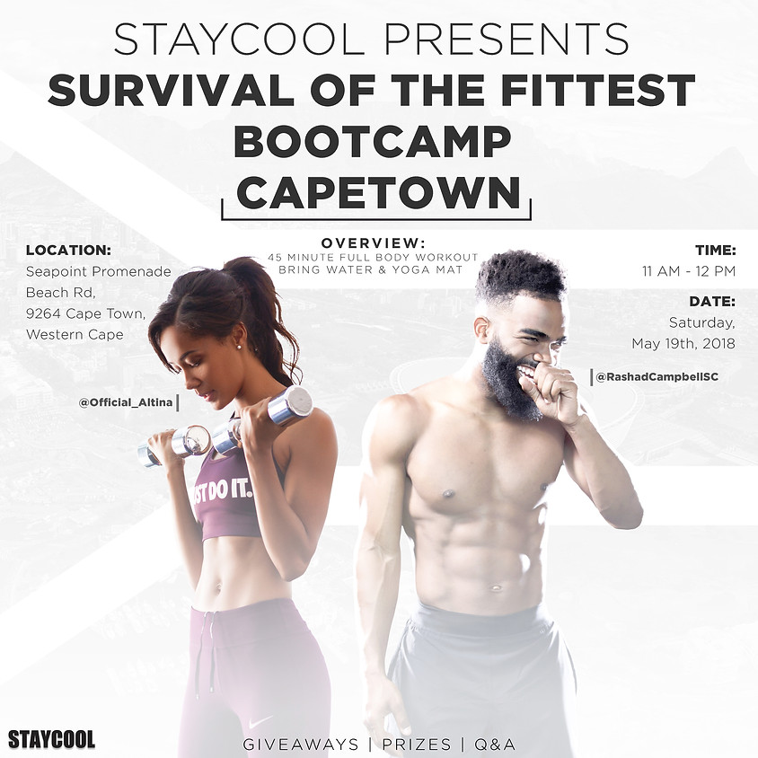 SURVIVAL OF THE FITTEST BOOTCAMP   CAPETOWN