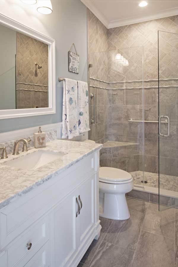 beach house bath design