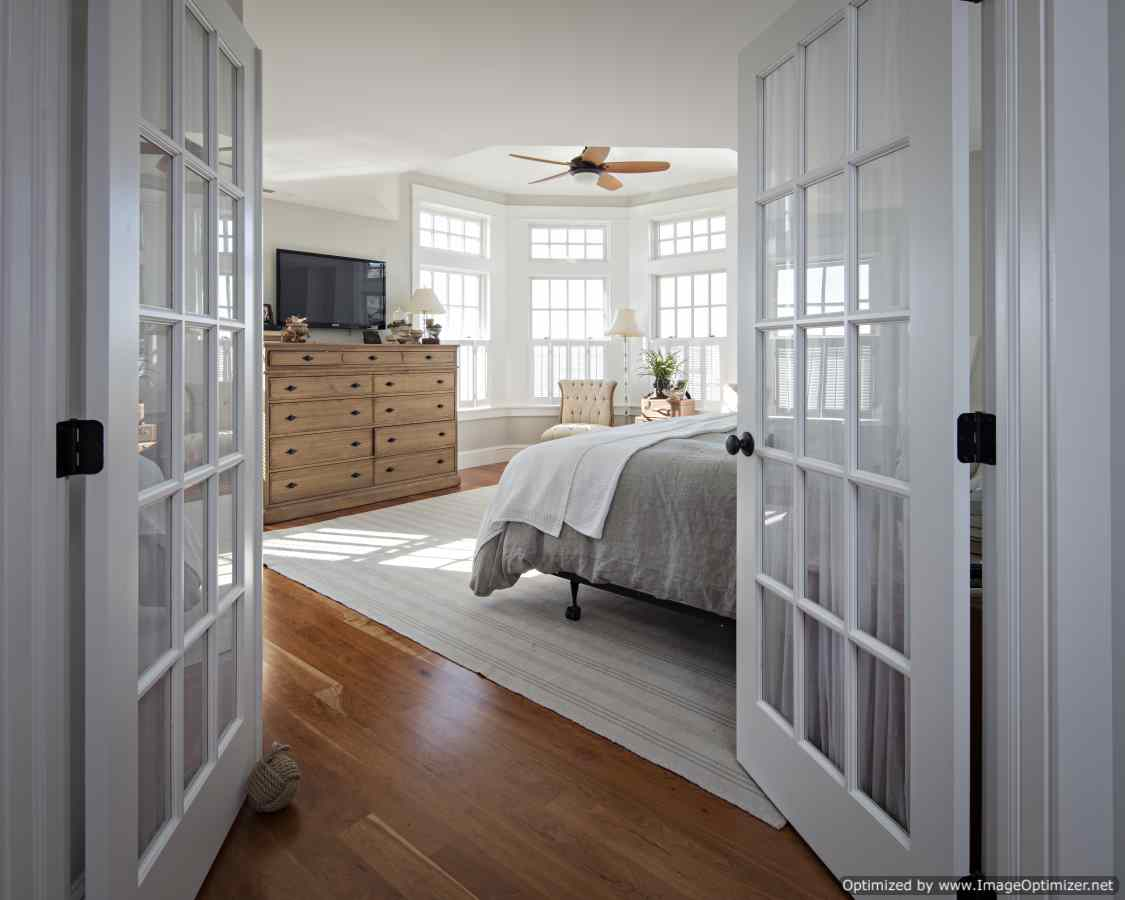 master bedroom long beach island
