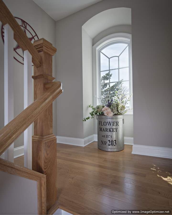stair landing ideas