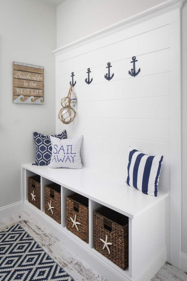 beach house storage ideas