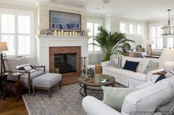 Cozy Beach Home Interior