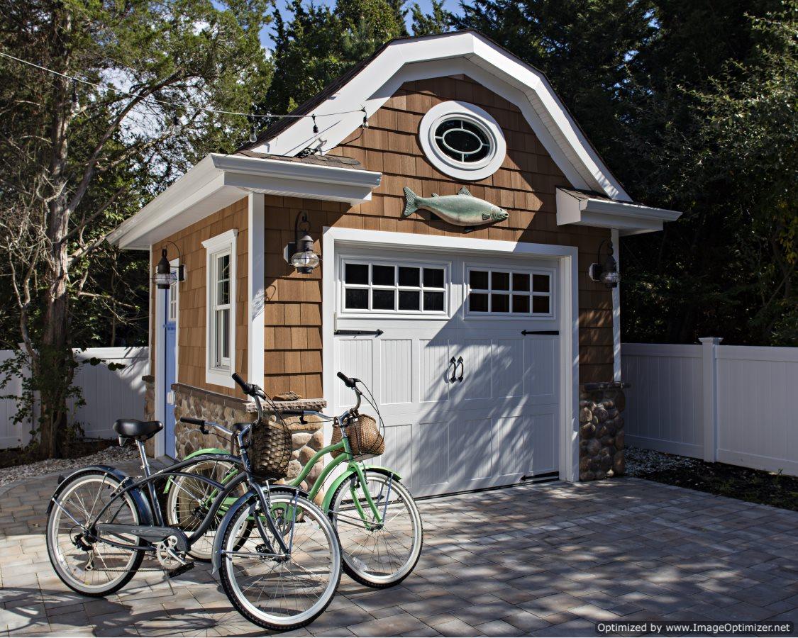 cute beach home shed