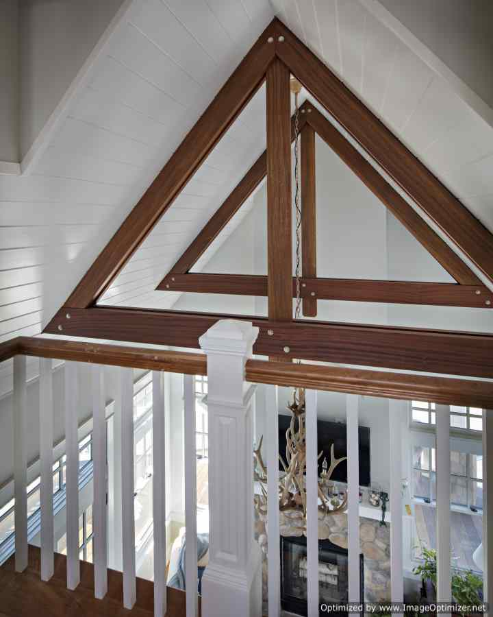 custom ceiling lbi beach house