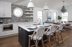 Custom Beach Home Kitchen