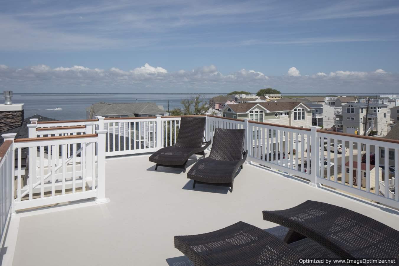 long beach island fiberglass deck