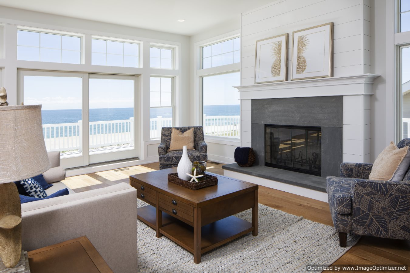 Oceanfront Living Room Ideas