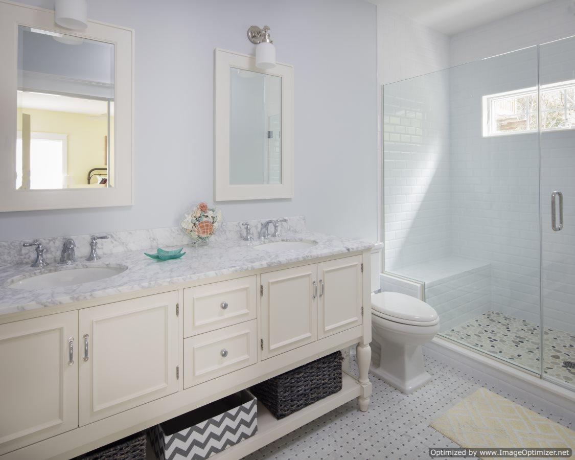 Beach home master bath