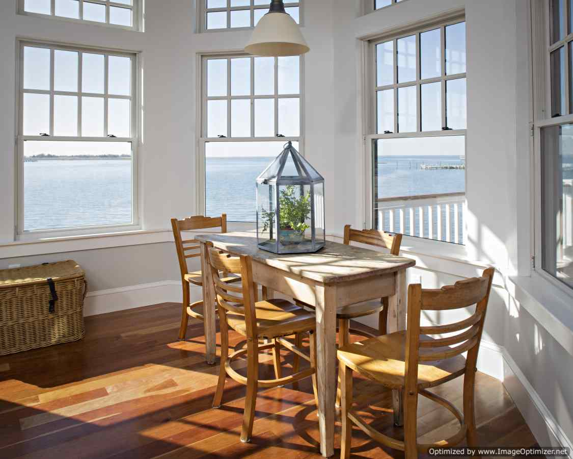 long beach island kitchen nook