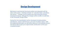 design/ build