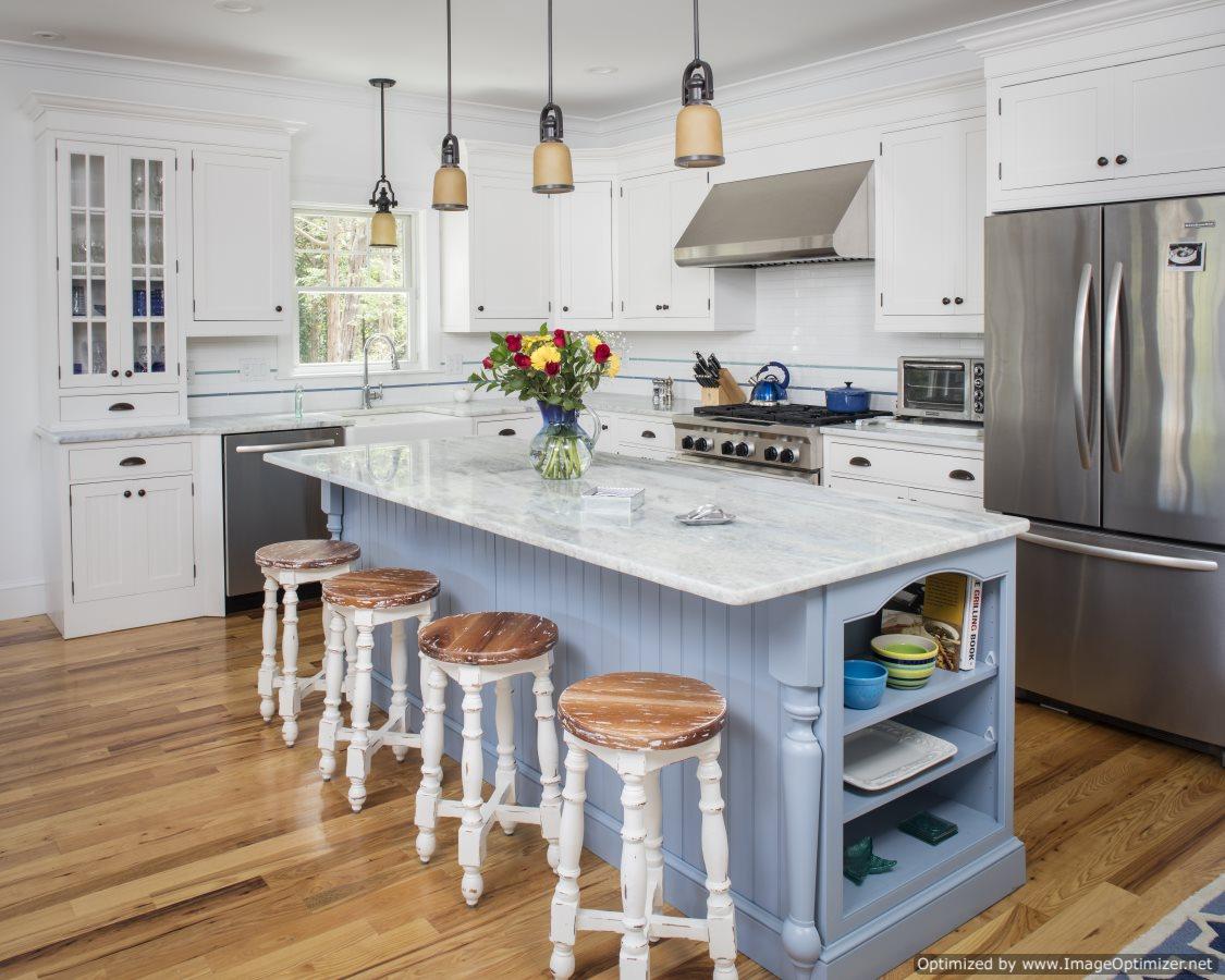 custom nautical kitchen island