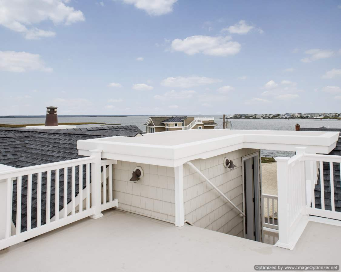 long beach island roof deck