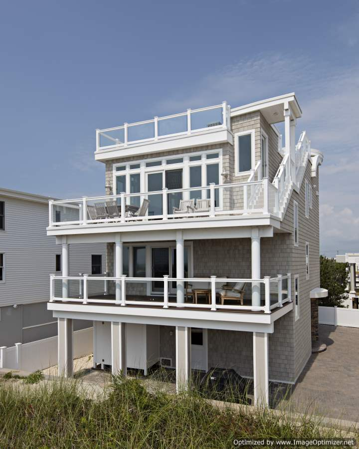 low maintenance oceanfront home
