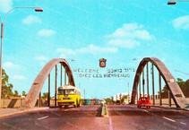 סרטון נדיר מפתיחת גשר הירקון ב-1958