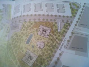 דרכי הגישה הצפויים לפרוייקט פארק בבלי