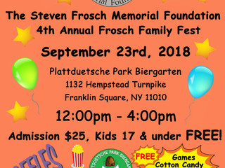 4th Annual Frosch Family Fest!
