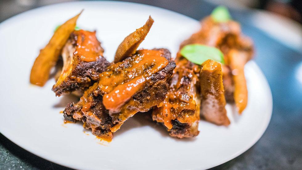 Chef Akshay Bhardwaj_Smoked Vindaloo Rib