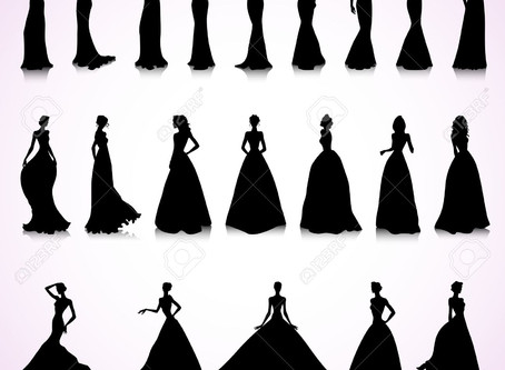 Shape up!  (A guide to bridal dress silhouettes)
