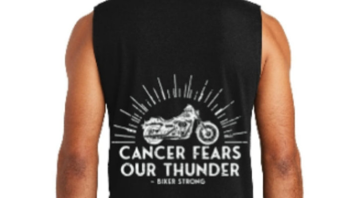 Cancer Fears Our Thunder District Sleeveless Muscle Tee