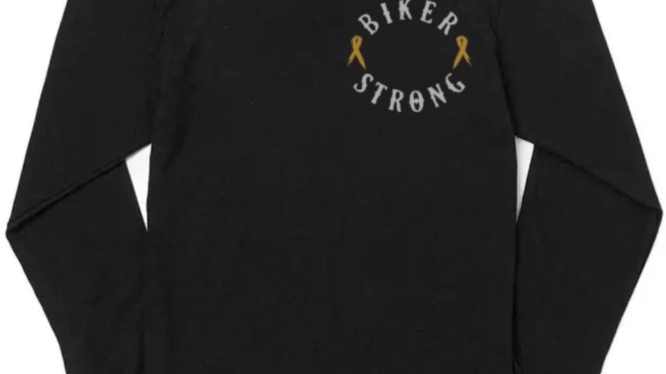 Biker Strong Long Sleeve Shirt