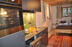 Küche im Souterrain