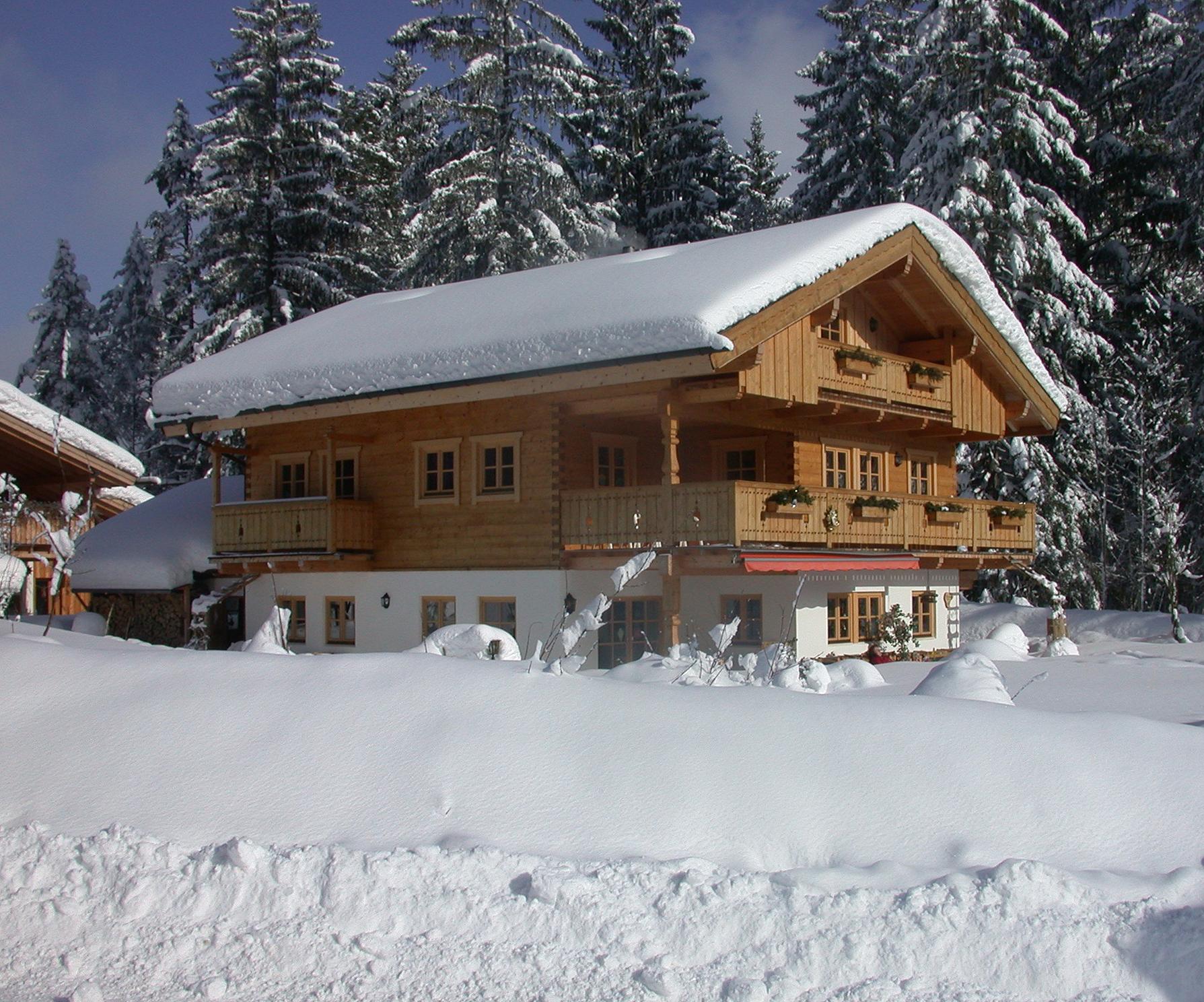 Gästehaus Ankelspitz im Winter