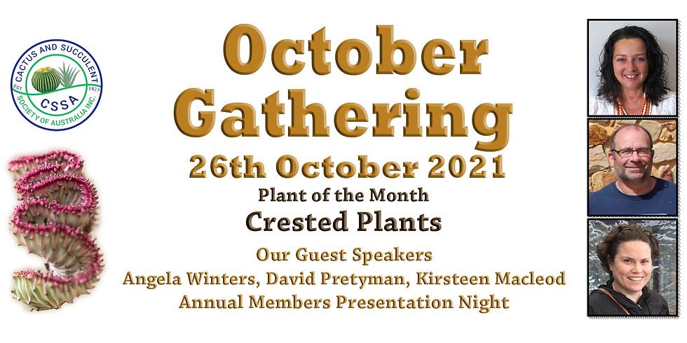 CSSA October 2021 Monthly Gathering