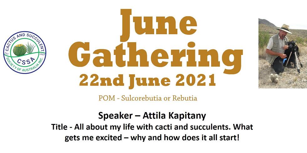 CSSA June 2021 Monthly Gathering