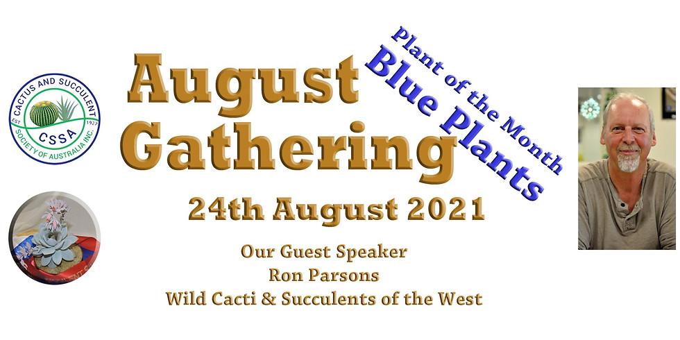 CSSA August 2021 Monthly Gathering