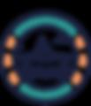 MOUSAILLON_logo ancre marron texte bleu.