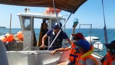 Pêche au Filet avec M. Castaing,  un professionnel super gentil
