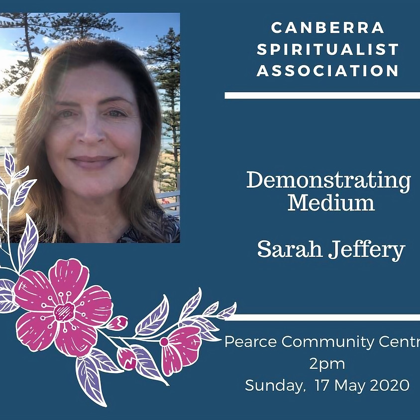 Sunday Service Demonstrating Medium at Canberra Spiritualist Association