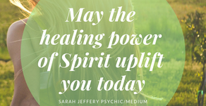 The Healing Power of Spirit