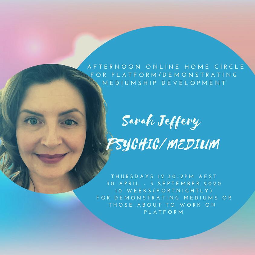 Online Home Circle for Platform/Demonstrating Mediumship Development