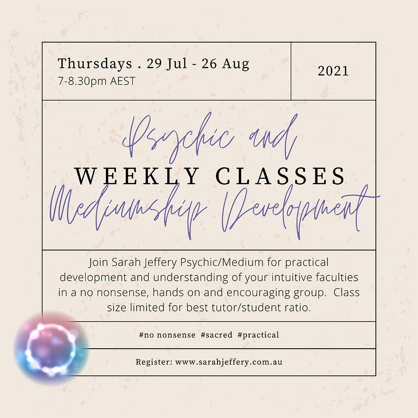 Psychic and Mediumship Development with Sarah Jeffery